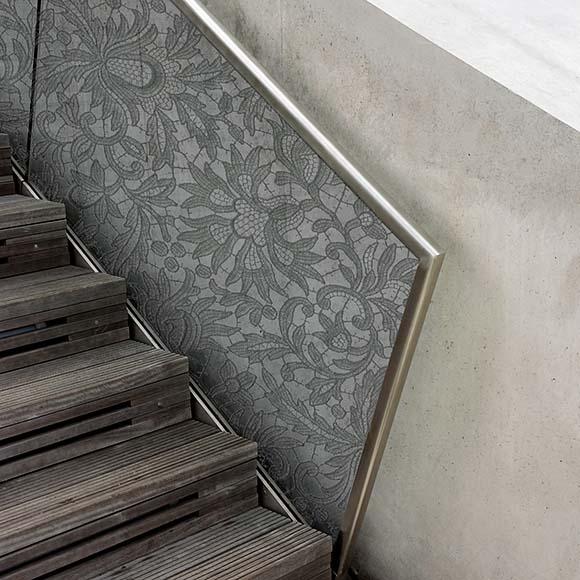 Stick-Design Layer Trennengeländer - Bischoff Interior AG