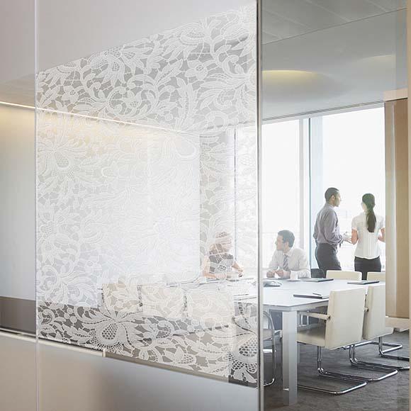 Office Design Innenarchitektur Raumtrennung - Bischoff Interior AG
